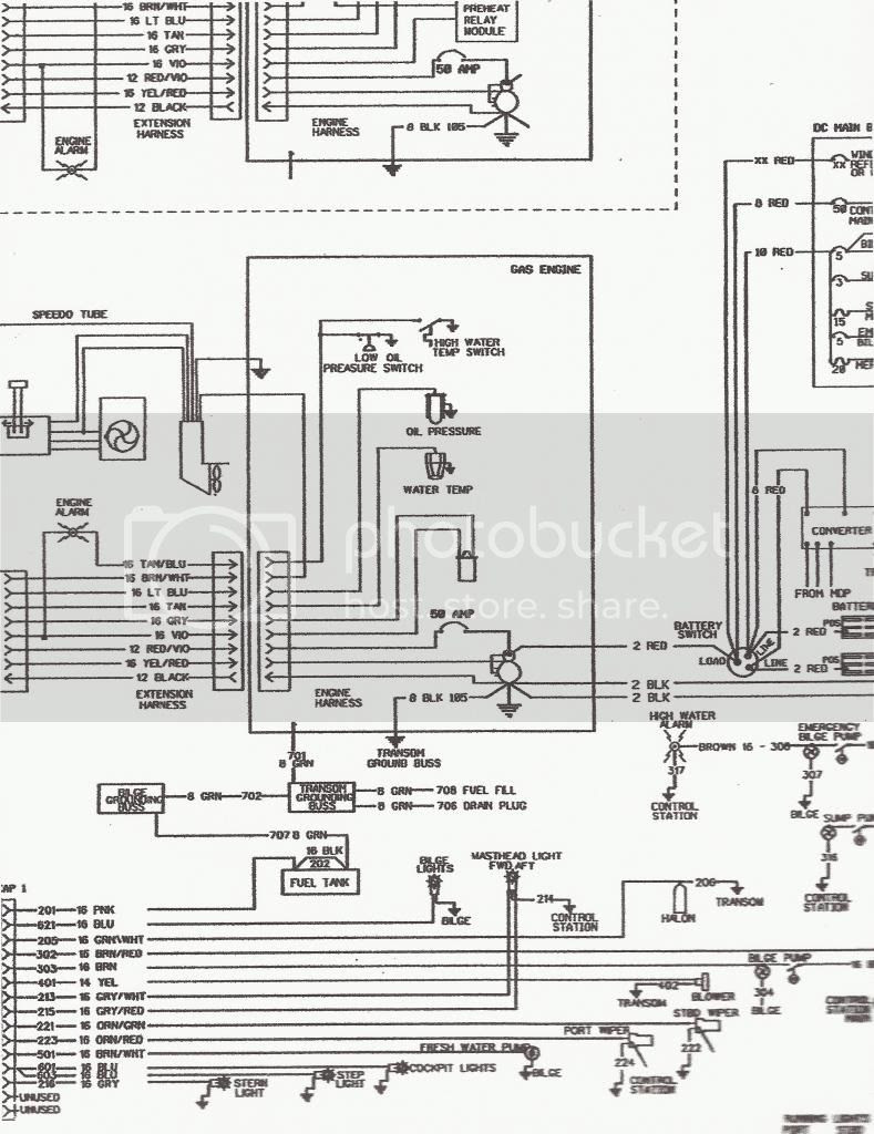 Diagram I Have An 88 Sea Ray I Need A Wiring Diagram For The