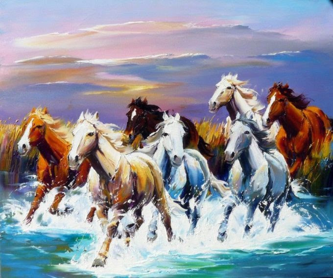 Seven Horse Pantings And Feng Shui Art To Bring You Wealth The Tao