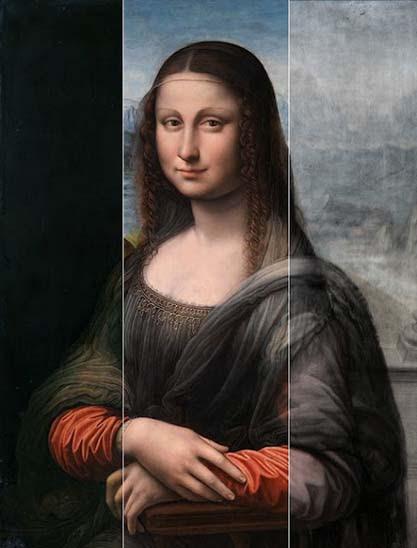 Image of 3PP on the Prado Mona Lisa