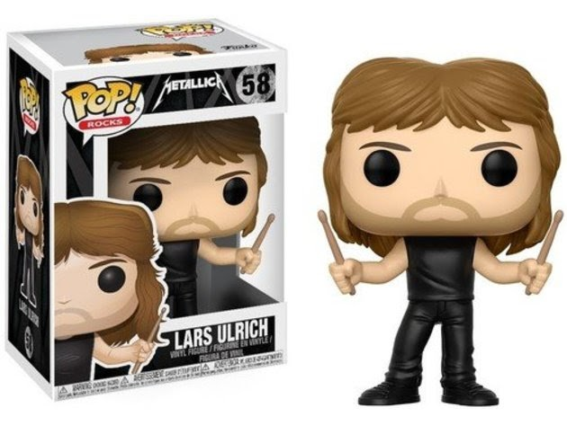 Funko Pop! Rocks: Metallica - Lars Ulrich Collectible Figure for $26