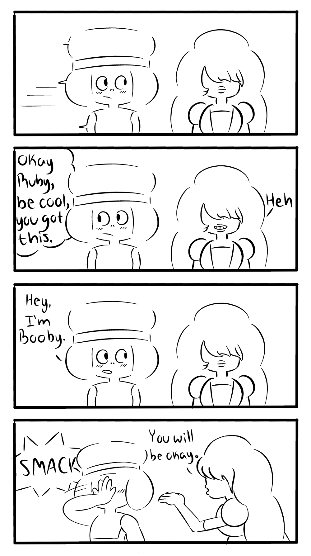 and that, kids, is how garnet was born