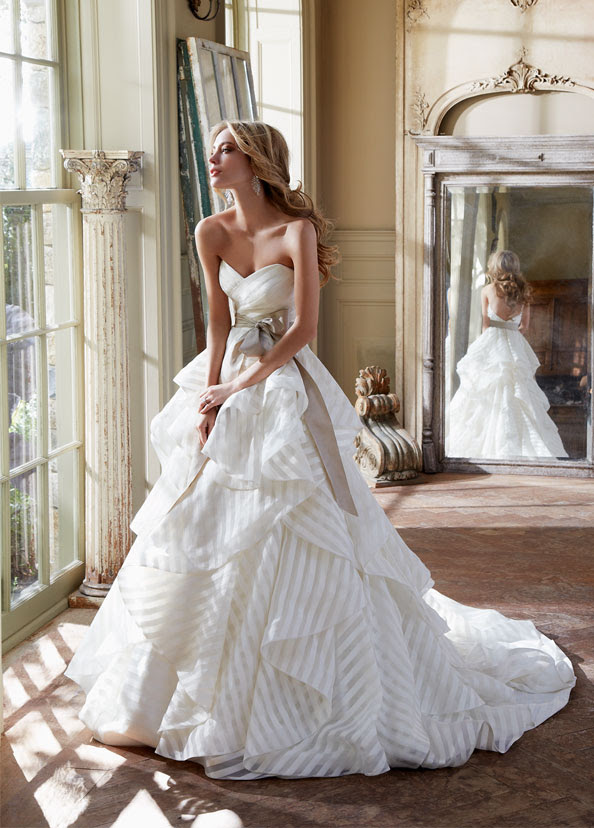 Hayley Paige Bridal Gowns, Wedding Dresses Style HP6315 by JLM Couture, Inc.