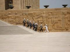 Di Perkarangan Attaturk Mausoleum, Ankara, Turkey