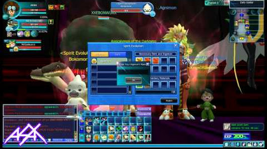 Asax dmo google digimon masters online agunimon hatchedhow to unlock spirit digimon negle Images