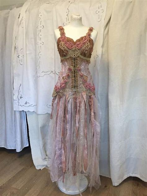 Fairy Wedding Dress, Elven Wedding Dress,ethereal Wedding