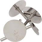 Ateco 1449 Heating Core Set, Stainless Steel