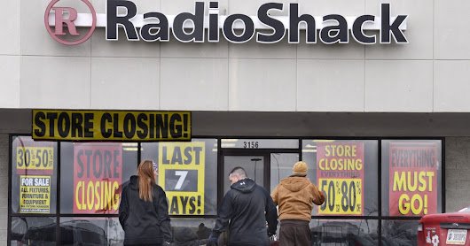 RadioShack closing 187 stores in latest bankruptcy filing