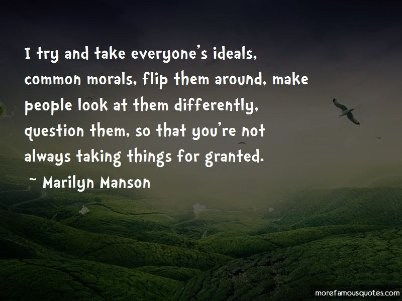 Taking Things Granted Quotes Top 19 Quotes About Taking Things