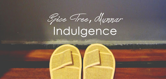 {Spice Tree, Munnar} - Indulgence Day 1