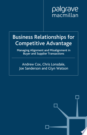 Download Business Relationships for Competitive Advantage For Free