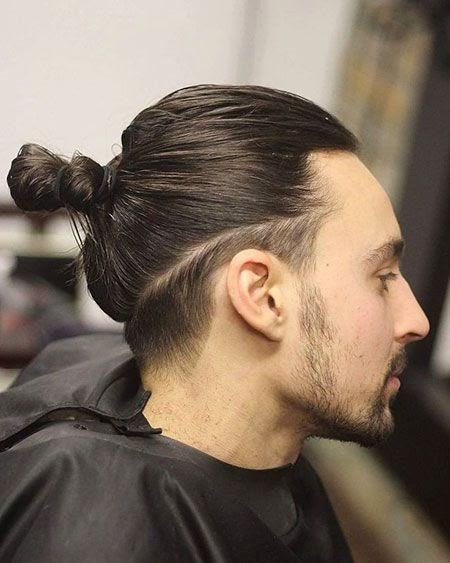 lange haare jungs frisur zopf - aktuelle frisur