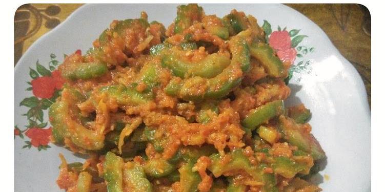 Resep Tumis Pare Teri Medan Oleh Erna's Kitchen