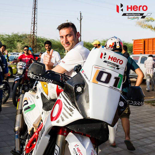 Hero MotoSports Team Rally's Joaquim Rodrigues wins India Baja 2017