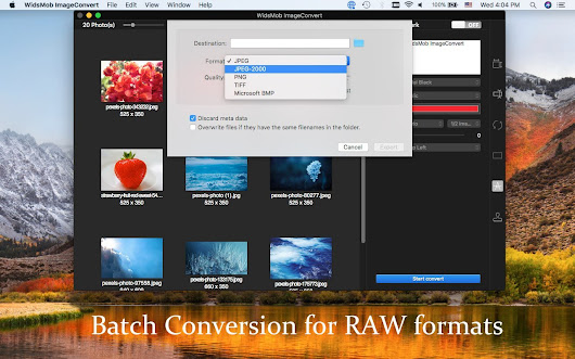 WidsMob ImageConvert - All Round Photo Converter with Batch Process - WidsMob