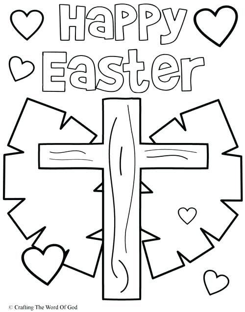 Religious Easter Coloring Pages Printable at GetDrawings ...