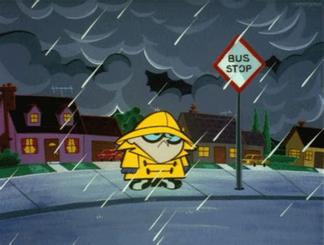 gambar hujan kartun lucu gambar animasi hujan lebat