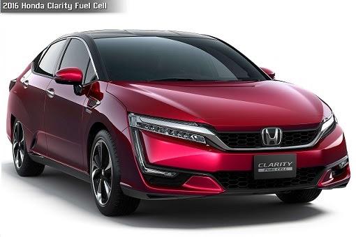 Honda 2016 Clarity Fuel Cell Car