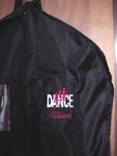 Personalized Dance Dancer Ballerina Ballet Costume Garment Bag