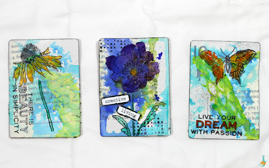 Creative Living Artist Trading Cards | Sarah Celebrates
