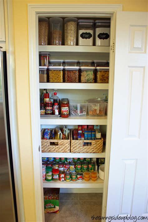 pantry organization   level  sunny side  blog