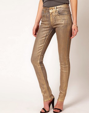 Image 1 of Oasis Metallic Jean