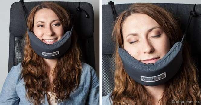 Alguém finalmente criou um dispositivo que vai permitir dormir nas viagens