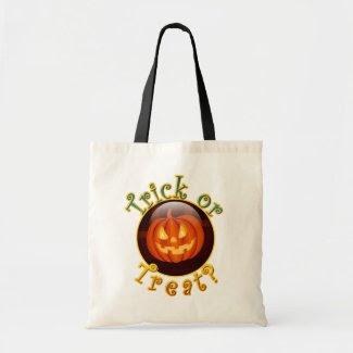 Funny Halloween Treat Bag bag