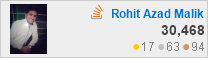 profile for Rohit Azad at Stack Overflow, Q&A for professional and enthusiast programmers