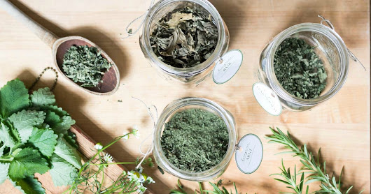 Printable Herb Tags For Storing Dried Herbs - On Sutton Place