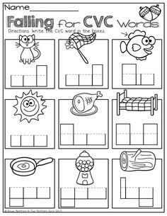 Gargantuan image inside free printable cvc worksheets