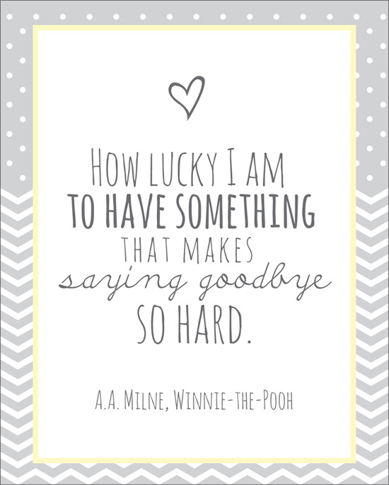 Winnie The Pooh Quotes How Lucky I Am Images Free Download