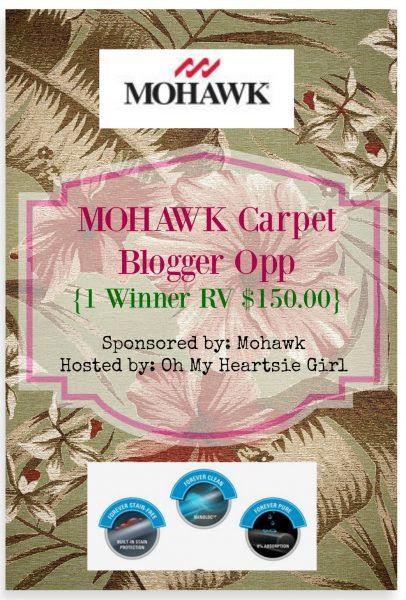 Mohawk Carpet Blogger Opp
