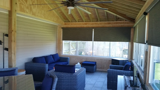 A Warner Robins Sunroom Designed with Comfort at the Forefront