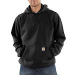 Carhartt Men's Black Midweight Hooded Sweatshirt