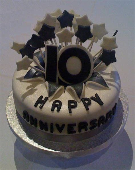 10 10 Year Anniversary Party Cakes Photo   10 Year