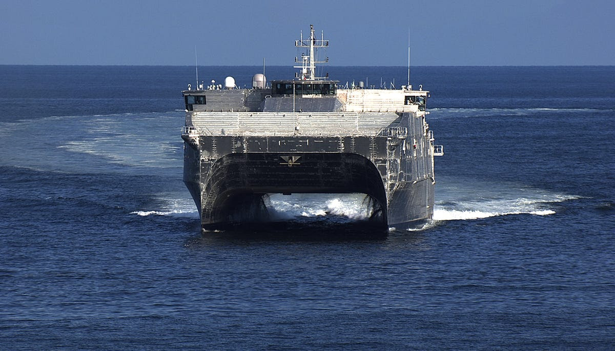 The joint high speed vessel USNS Fall River (JHSV 4)