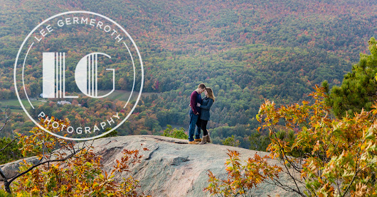 Colleen & Kevin's Mountain Top Fall Engagement Session