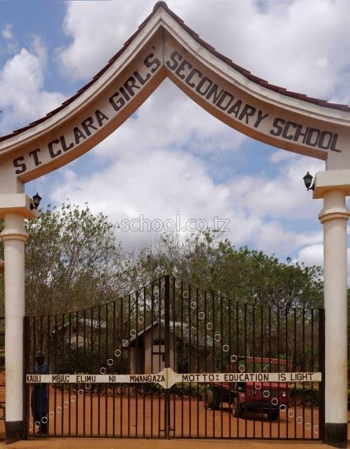 Image result for St Clara Girls Secondary School - Kilimanjaro,
