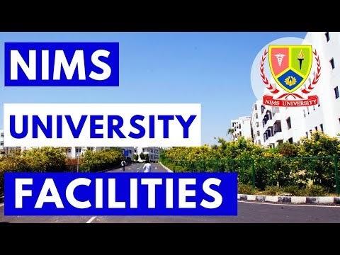 Hostels and Facilities of NIMS University Jaipur