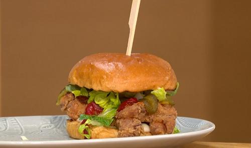 Joseph Denison Carey fried chicken sandwich recipe on This ...