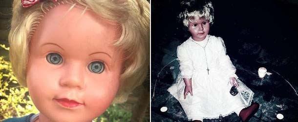 Peggy, la muñeca poseída que causa enfermedades a todo aquel que la mira