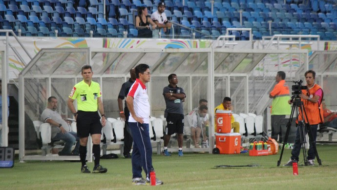 Sérgio China técnico do América-RN (Foto: Diego Simonetti/Blog do Major)