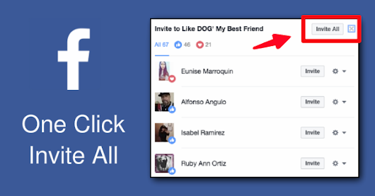 Free Facebook 'Invite All' Plugin to Grow Facebook Page Organically