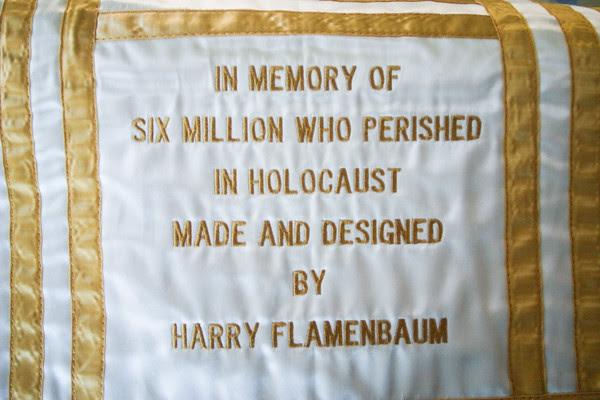 Harry Flamenbaum, Torah Covers, Holocaust Survivor, Kehillath Israel