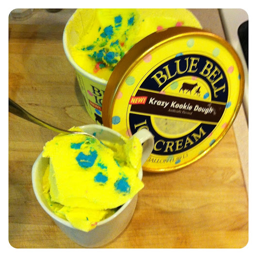 Blue Bell Review - Krazy Kookie Dough