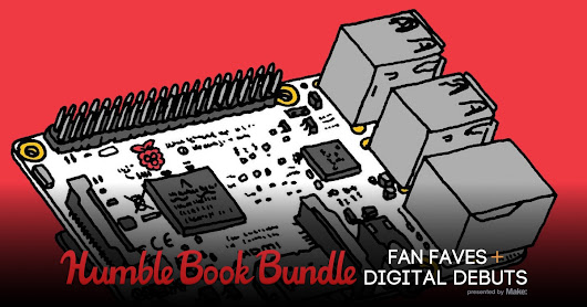 Humble Book Bundle: Fan Faves + Digital Debuts presented by Make: