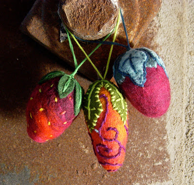 Time to start making felted wool ornaments!
