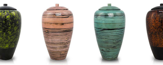 Resilient, Graceful Bamboo Urns