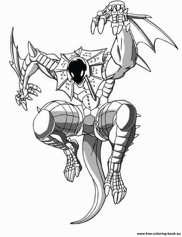 Download Coloring pages Bakugan Battle Brawlers - Printable Coloring Pages Online