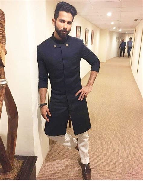 My boy   Shahid kapoor   Indian men fashion, Mens indian